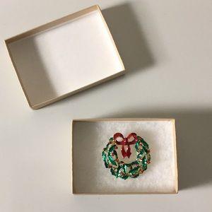 Festive Holiday Pin